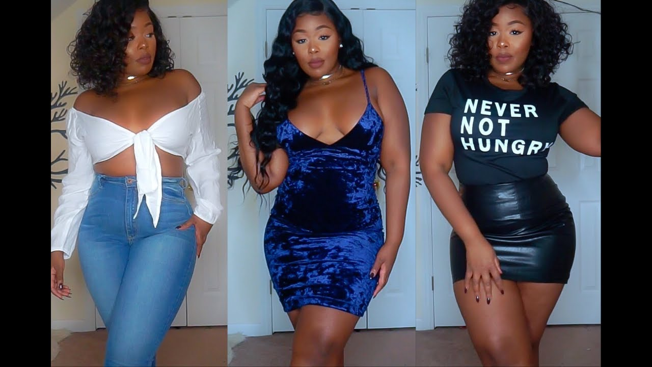 3751d0e8085 Another Amazing Zaful.com Curvy Thick girl try-on haul - YouTube