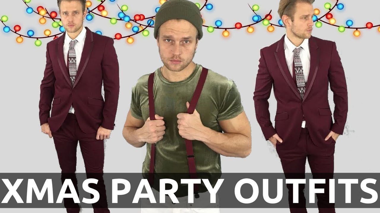 Christmas Party Suit Men.Men S Christmas Party Outfits How To Dress For A Christmas Party Christmas Outfits For Men