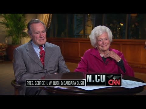 CNN Official Interview: Bush 41:History will be kind to George W. Bush