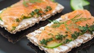 How to make Salmon Gravlax Smørrebrød Recipe