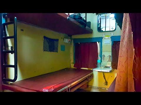 Indian Railways AC 2 Tier/2A Coach Interior Layout!
