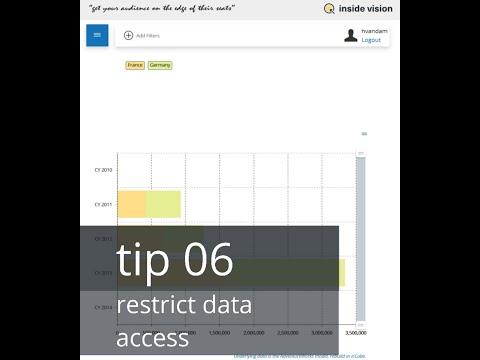 Tip 6 - restrict data access