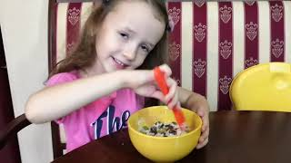 This Is The Way Song | Ulyana Pretend Play Morning School Routine