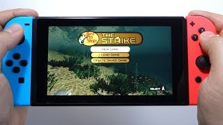 Bass Pro Shops: The Strike - Championship Edition Nintendo Switch gameplay