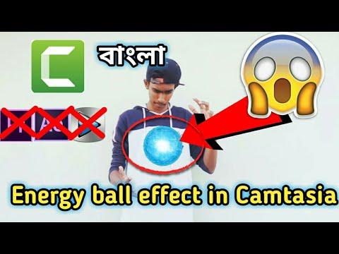 (Bangla)Make Energy Ball Effect in Camtasia 9 AF Production
