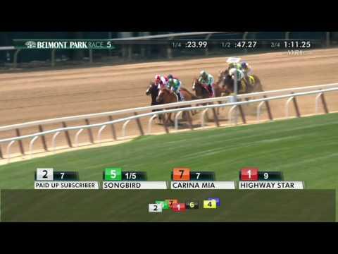 Songbird - 2017 Ogden Phipps Stakes