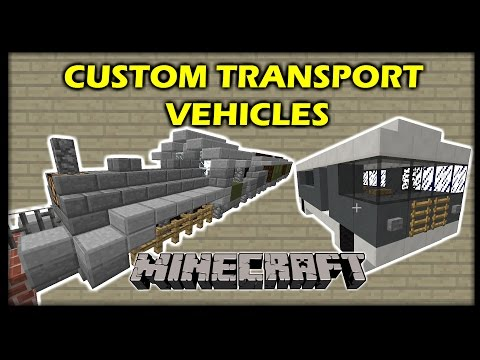 [1.9 Vanilla Minecraft] Custom TRANSPORT VEHICLES in 7 commands