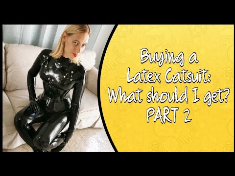 Buying a Latex Catsuit: What Should I Get PART 2