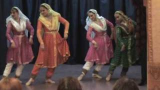 Jhaptal in kathak by the studnts of Guru Ashwani Nigam