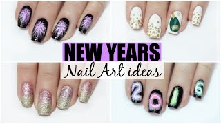 HOW TO New Year 39 s Eve Nail Art