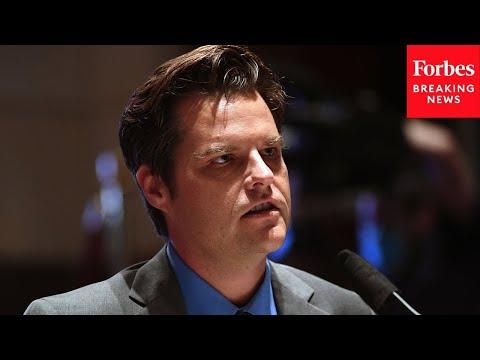 BREAKING: Top ex-aide to Matt Gaetz reveals recent encounter with FBI agents