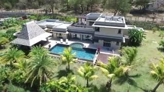 Ile Maurice Black River : Somptueuse villa de luxe  – 500 m2 (IRS)