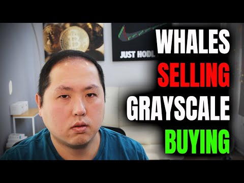 Bitcoin Whales are Selling and Grayscale is Buying
