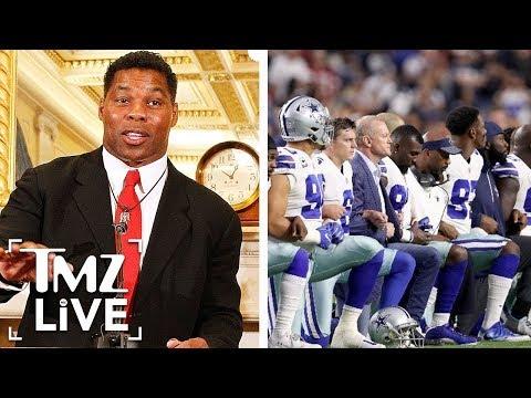 Herschel Walker: NFL Should Ban Kneeling | TMZ Live