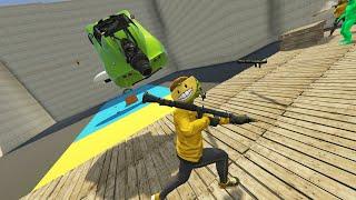 COCHE CON TURBOS vs RPG! MUY ÉPICO!! - GTA V ONLINE