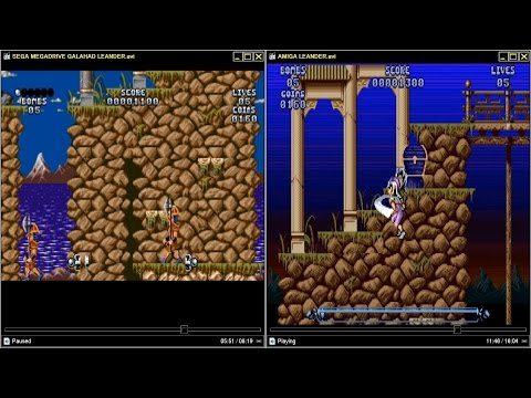 LETS HEAR AND SEE LEANDER GALAHAD IN MEGADRIVE AND AMIGA REQUESTED By Alex76gr