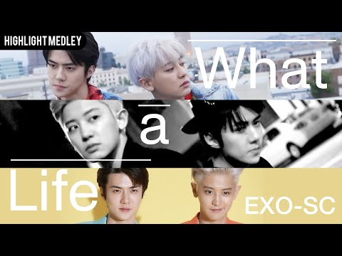 "Update: EXO-SC Lives The High Life In Glamorous MV Teaser For ""What"