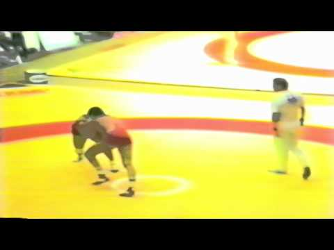 1987 Senior World Championships: 100 kg Javhlantugs Bold (MGL) vs. Georgi Jantschev (BUL)