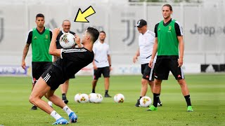 Cristiano Ronaldo In Juventus Training 2020
