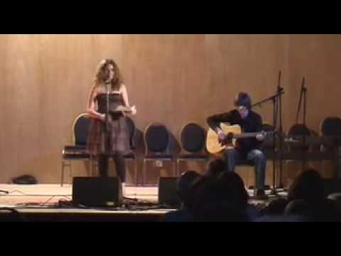 Brigid Mhairi sings The Dark Island (Richard Dunn on guitar)