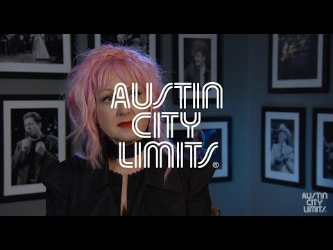Austin City Limits Interview with Cyndi Lauper