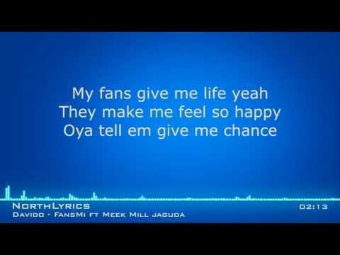 Davido Fans Mi ft Meek Mill Jaguda Lyrics