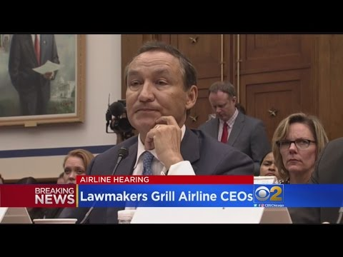 House Committee Grills Airlines In Wake Of United Passenger Dragging