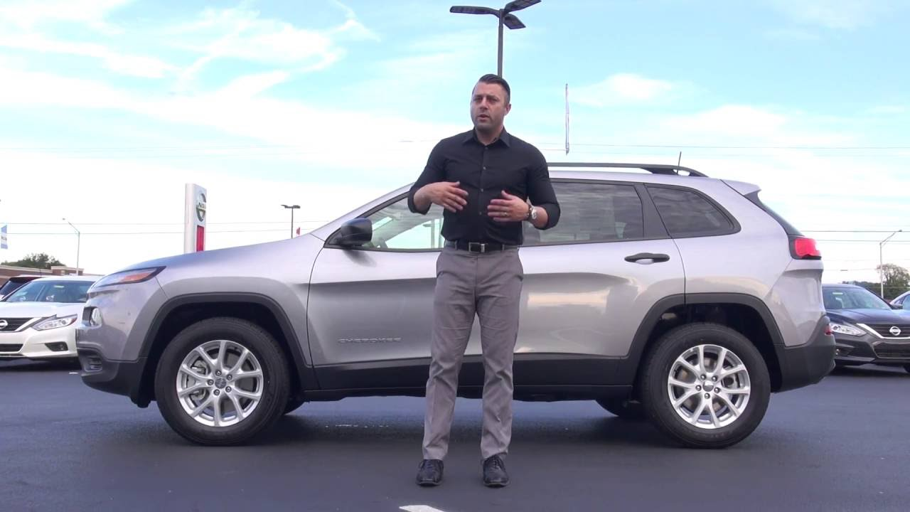 2017 Jeep Cherokee Sport Features Review