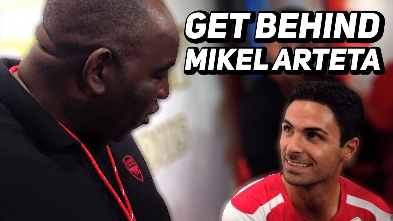 We Must Get Behind Arteta Robbie Backs The Imminent Appointment