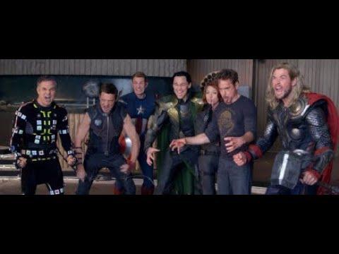 Avengers EndGame Blu-ray  Promo in Japan