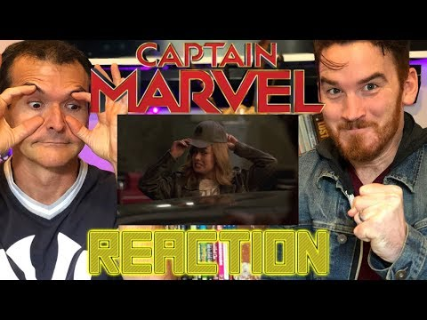 Marvel Studios' CAPTAIN MARVEL | SPECIAL LOOK - REACTION!!