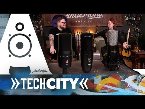 Recording on a Budget? 3 Best Mics Under £100 - AKG P120, sE Electronics X1 and Marantz MPM-1000