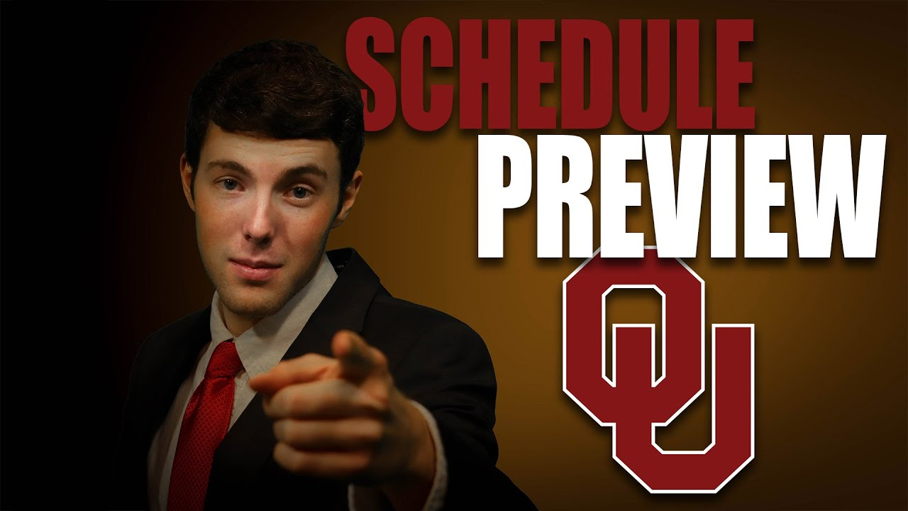 Oklahoma 2020 College Football Schedule Preview