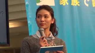AKB48のメンバーだった女優の秋元才加さんがスペシャル・サポーターとな...