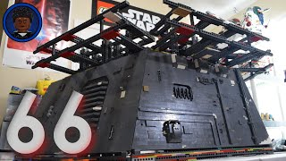 LEGO Starkiller Base MOC Build Series: Update 66 - Oscillator Building Walls!