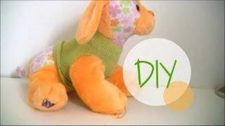 DIY: How to make Webkinz clothes using socks (easy)