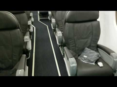 American Eagle operated by Envoy Air Embraer Regional Jet ERJ175 cabin tour