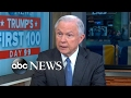 AG Jeff Sessions speaks out on Michael Flynn investigation