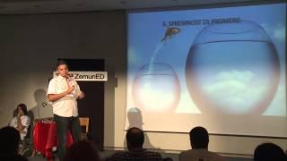 Od straha do uspeha | Saša Ljuboja | TEDxZemunED
