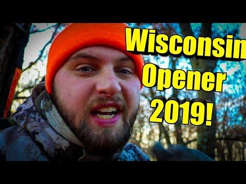 WISCONSIN Gun Hunt Opening Weekend! ( Deer CAMP 2019!!!)