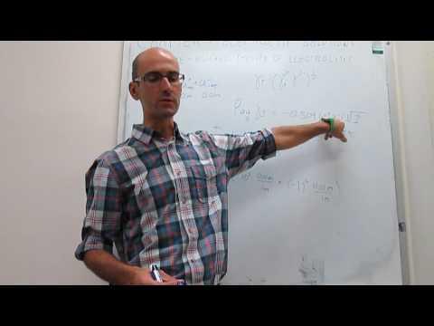 The Debye-Huckel theory of electrolytes