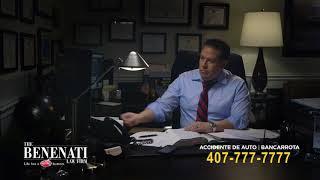 Walter Benenati: Auto Accident Attorney (In Espanol)