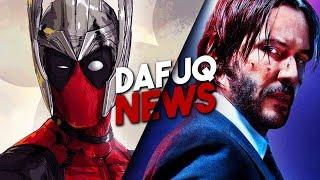 Deadpool z kategorią R w MCU?! Nowe universum Johna Wicka!