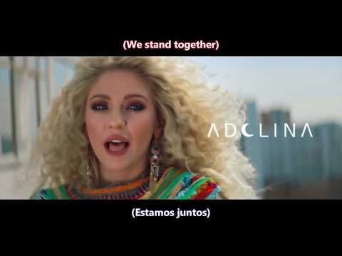 RedOne - 'One World' Feat. Adelina & Now United(English Lyrics/Subtítulos en español)