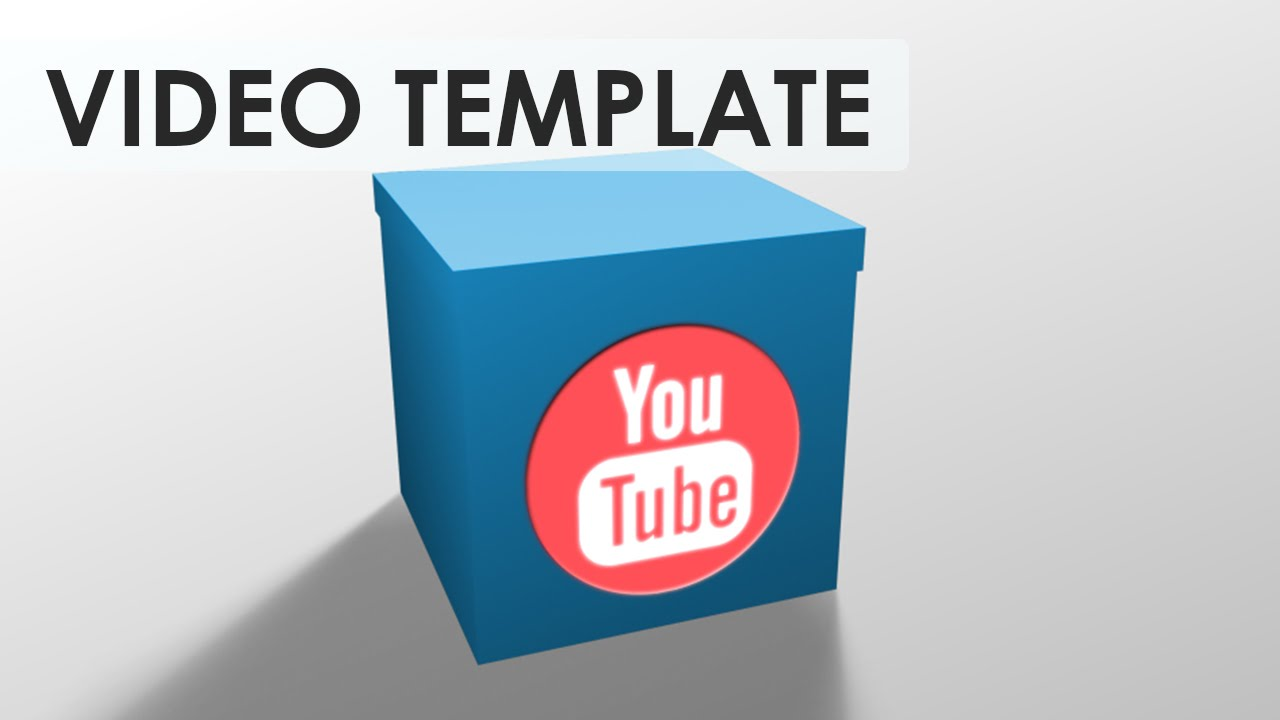 Box Reveal After Effects Video Template Youtube