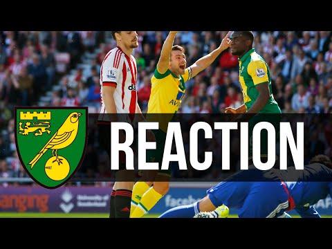 Sunderland 1-3 Norwich City: Russell Martin Reaction