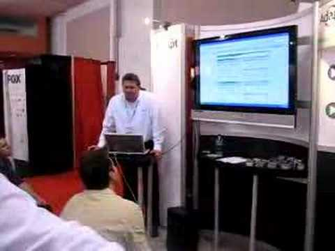 Adapt Technologies demo at SES San Jose 2007