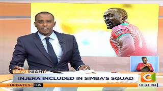 Injera included in Simba's squad