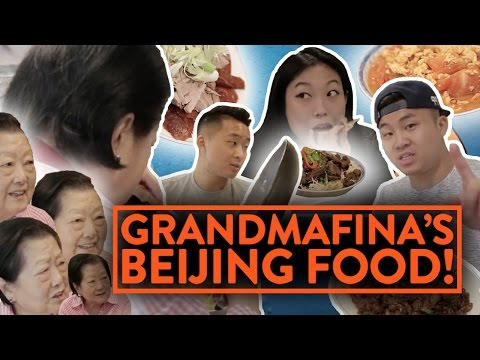 BEIJING FOOD w/ AWKWAFINA & GRANDMOTHER