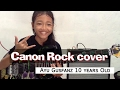 Canon Rock By:jerry C Cover:ayu Gusfanz 10 Years Old From Indonesia video